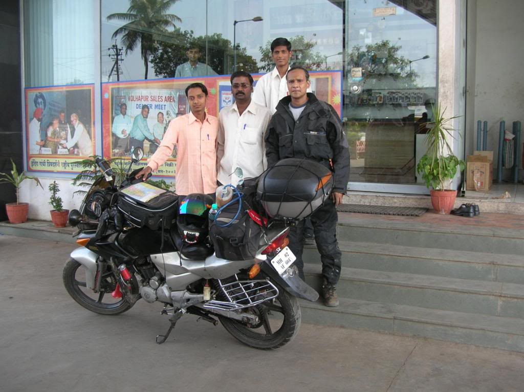 Arnob Gupta modified Karizma