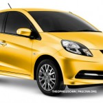Honda working on Brio sedan, to be introduced by 2013