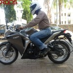 CBR250R 1000km member review by Dr Arnob Gupta