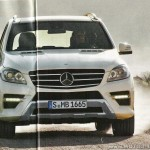 2012 Mercedes Benz M-Class Leaked Snaps