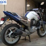 Fantastic Mod: Yamaha FZ 16 converted into a 250cc machine by Sanjay Chadha