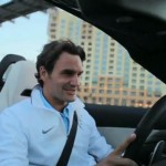 Video: Roger Federer driving the Mercedes-Benz SLS AMG Roadster