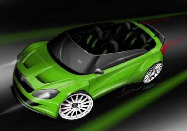 Skoda Fabia RS2000 Roadster