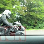 Triumph's all-new Daytona 675 spied