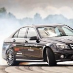 Extreme video: Mauro Calo's World Record Drift in a Mercedes C63 AMG