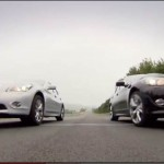 Video: Vettel and Webber slug it out in Infiniti sedans at Nurburgring!