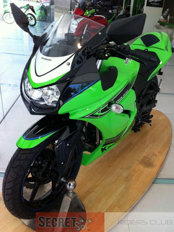 2012 Ninja 250R special edition