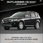 Mitsubishi introduces Outlander Chrome edition