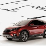 First video of the 2012 Honda CR-V Concept