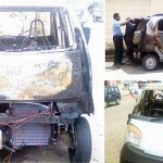 Tata Nano catches fire in Sri Lanka!