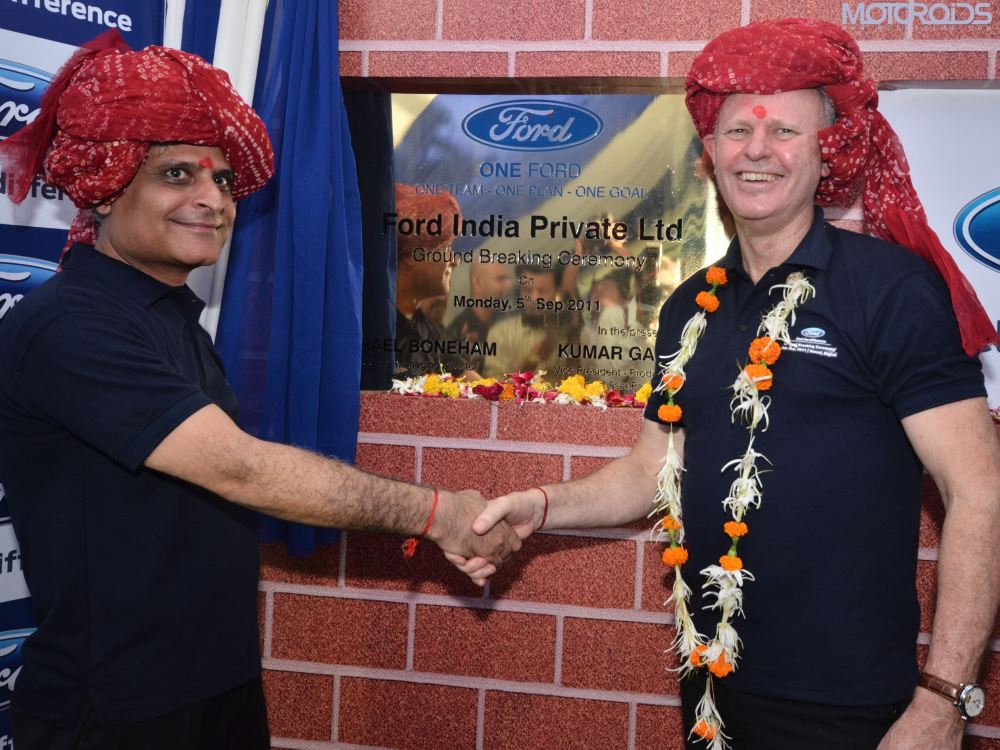 Ford-India-top-management-sanand-Gujarat motoroids-pramotion-728 Ford-India-Gujarat-Plant-ground-breaking