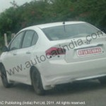 Honda City facelift spied, to be launched soon!