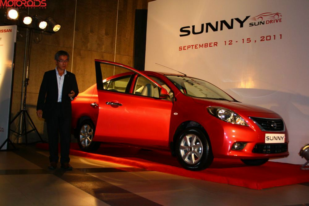 NIssan Sunny, Suuny sedan India (21)