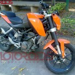 KTM 200 Duke launch expected this month