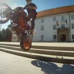 Video: Rok Bagoros performs stunts on his KTM 125 Duke
