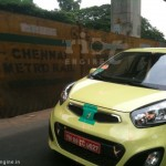 Kia Picanto (Morning) caught testing in India