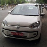 VW Up! spied undisguised at Pune