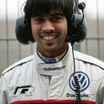 Aditya Patel tests Audi R8 LMS for ADAC GT Masters in Motorsport Arena Oschersleben