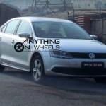 Volkswagen Jetta TSi caught testing in Pune