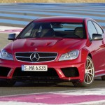 Mercedes C63 AMG Black Series is faster than Ferrari 599GTB and BMW M3GTS on Nurburging track