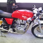 2012 Expo: Royal Enfield unveils cafe racer, accessories range