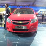 2012 Auto Expo: Chevrolet showcases Sail hatch, unveils the MPV Concept