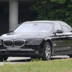 SPIED: BMW 7 series facelift