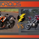 EXCLUSIVE: Bajaj Pulsar 200 NS vs. KTM 200 Duke