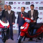 2012 Auto Expo: Mahindra two wheelers showcase MGP30 Duro DZ