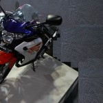 2012 Auto Expo: Honda launches CBR250R in Tri Color Pearl Heron Blue