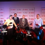 Hero MotoCorp unveils three new models!!