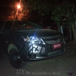 SPIED: Chevrolet Sail hatchback caught testing in Pune.
