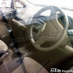 Spied: Interiors of upcoming Chevrolet Sail sedan
