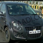 Maruti Ritz facelift spotted again, launch expected soon