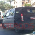 Chevrolet Enjoy MPV caught testing in Mumbai: Mid 2012 launch
