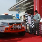 Maruti Suzuki Desert Storm flags off, witnesses XUV500's motorsport debut