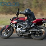 Bajaj working on a faired Pulsar 200NS. Perfect successor to the P220?