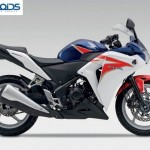 Honda CBR 250R to get Pearl Heron Blue triple tone color in Feb-end. To be dearer by Rs.1500