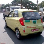 SPIED: Kia Picanto caught testing in India
