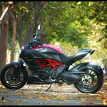 First Impressions: Nitin Gupta Rides The Ducati Diavel