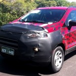 Camouflaged Ford Ecosport Caught Testing in Brazil