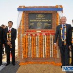 Ford India Lays Foundation for its Plant at Sanand