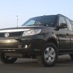 Tata Safari Storme GS 800 on display at Defence Expo 2012