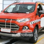 SPIED: Undisguised production model of Ford Ecosport