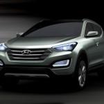 Hyundai Releases Teaser Image of 2013 Santa Fe