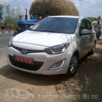 Hyundai i20 facelift spotted in the country
