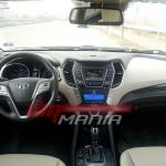 SPIED: 2013 Hyundai Santa Fe interiors