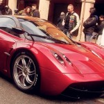 Pagani Huayra can pull off a shade of red as easily as a Ferrari