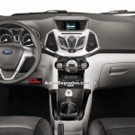 SPIED: Ford Ecosport dashboard undisguised