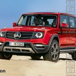 Mercedes GLG Class to debut in 2015
